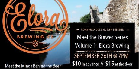 Meet the Brewer Series: Elora Brewery tickets