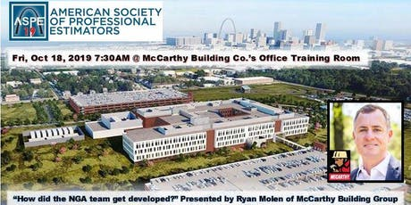 """""""How did the NGA team get developed?"""" by Ryan Molen, VP of McCarthy tickets"""