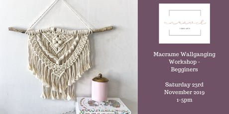 Macrame Wallhanging Workshop  tickets