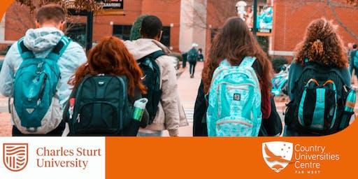 Charles Sturt University - Nursing FUTURE AND CURRENT STUDENTS
