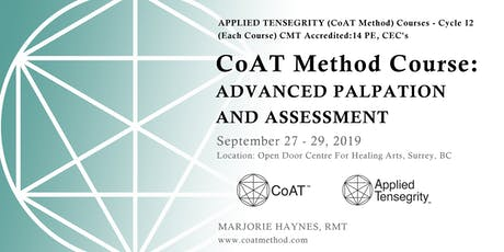 CoAT Advanced Palpation and Assessment, Cycle 12 tickets