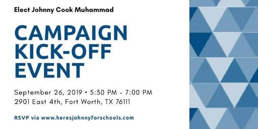 Campaign Kick-Off Event