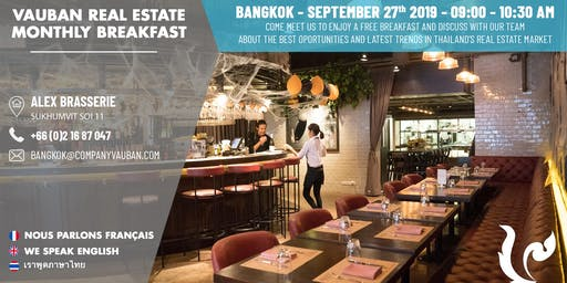 Breakfast with Vauban Real Estate Bangkok