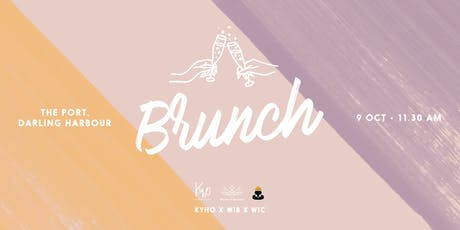 Brunch at The Port with WIB X KYHO Networking X WIC tickets