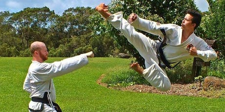 Traditional Taekwondo Practice in Central Park tickets