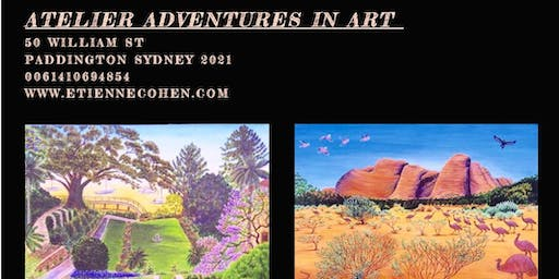 Check outNew Art Workshops at  Etienne Cohen Paintings on 19 th October 2019