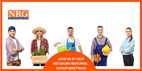 NRG Victoria Park Networking Meeting tickets