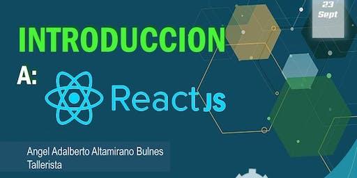Introduccion a React JS