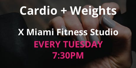 Cardio + Weights By Stay Golden Miami  tickets