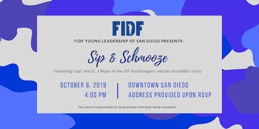FIDF YL of San Diego Presents: Sip and Schmooze