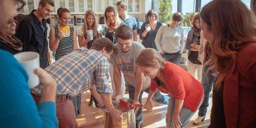 Atelier d'extraction du miel 2019