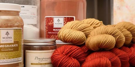 Intro to Natural Dyeing tickets