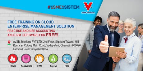 Free Training on Cloud Enterprise Management Solution. Practice & Use Accounting & CRM Software For FREE! entradas