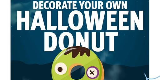 Decorate your own Halloween Donut