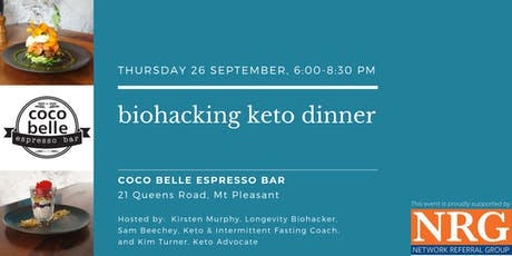 Biohacking Keto Dinner at Coco Belle tickets