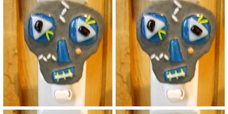 Glass Skull Nightlight or Ornament Modern Craft Winery Wyandotte tickets