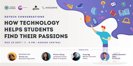 EdTech Conversations: How Technology Helps Students Find Their Passions tickets