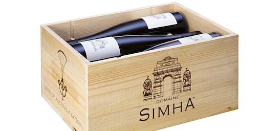 Domaine Simha Wine Tasting