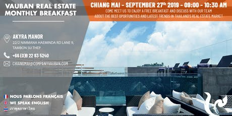 Breakfast with Vauban Real Estate Chiang mai tickets