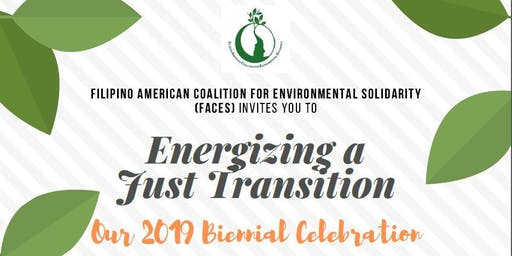 Energizing a Just Transition - FACES 2019 Biennial Celebration