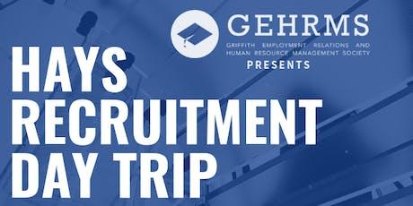 HAYS Recruitment Day Trip tickets