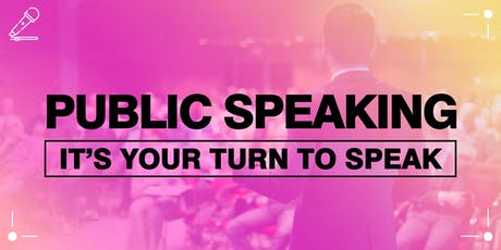 Public Speaking - It's the most easiest thing, anyone can do, anywhere. tickets