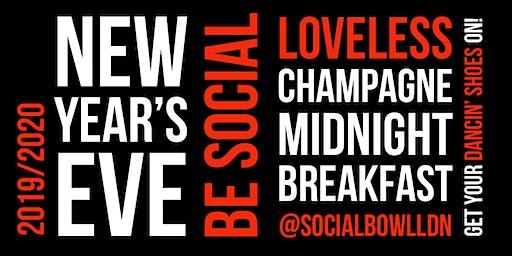 NYE SOCIAL @SocialbowlLDN