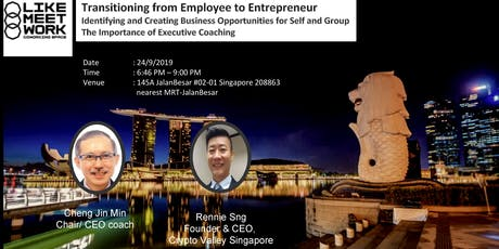 Transitioning From Employee to Entrepreneur tickets