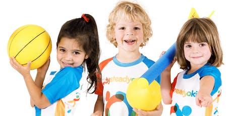 Stockland Elara NSW - Ready Steady Go Kids: Multi Sports Program 18-19 tickets