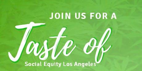 Taste of Social Equity Breakfast Meet Up For Cannabis Industry Week entradas