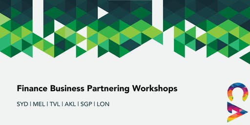 Finance Business Partnering Workshop SYDNEY