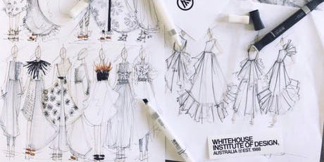 Fashion Illustration Workshop | Summer Workshop 2020 (5 Days, Melbourne Campus) tickets