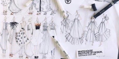 Fashion Illustration Workshop   Summer Workshop 2020 (5 Days, Melbourne Campus) tickets