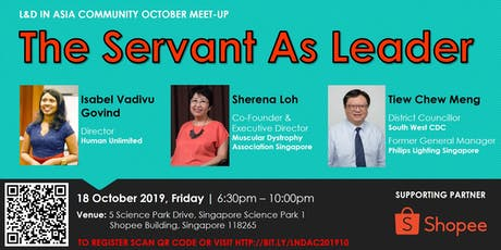 L&D Community Meet-Up: THE SERVANT AS LEADER tickets
