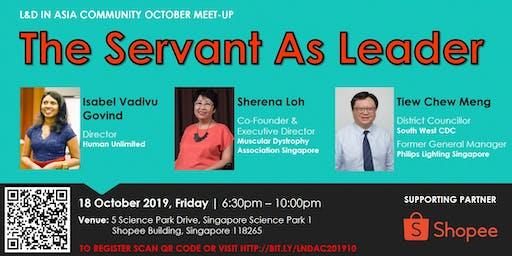 L&D Community Meet-Up: THE SERVANT AS LEADER