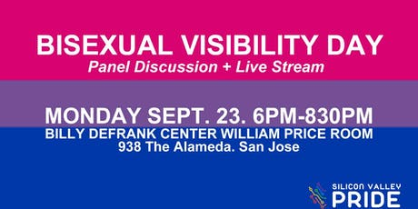 Bi Visibility Day Panel  + Live Stream tickets