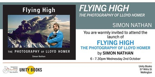 Book Launch   Flying High: The Photography of Lloyd Homer by Simon Nathan