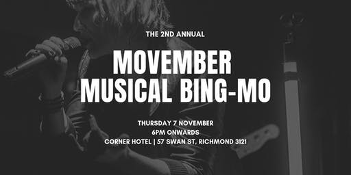 Musical BingMO in aid of Movember
