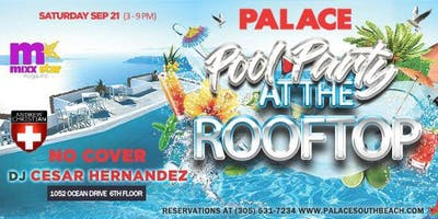 POOL PARTY AT THE ROOFTOP