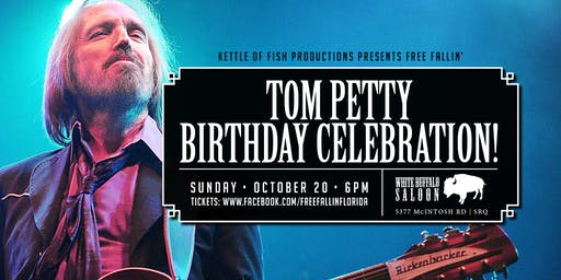 Tom Petty Birthday Blowout