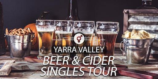 Beer & Cider Singles Tour | F 30-46, M 34-49 | November
