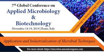 7th Global Conference on Applied Microbiology and Biotechnology