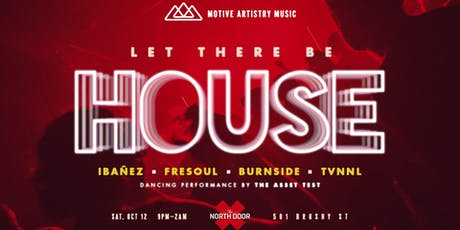 Let There Be House at North Door tickets