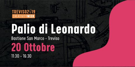 PALIO DI LEONARDO: la Gara di veicoli  ispirati a Leonardo Da Vinci biglietti