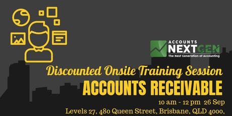 Accounts Receivable Discounted Trial Session (Brisbane 10am-12pm) tickets