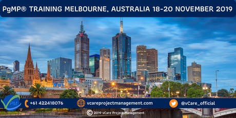 PgMP | Program Management Certification | Training | Melbourne | 2019 tickets