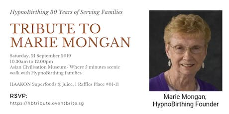Tribute to Marie Mongan-Founder of HypnoBirthing tickets