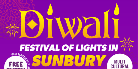Diwali -  Festival of Lights in Sunbury   Connecting Communities Together tickets