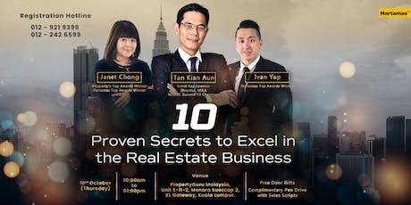 The 10 Proven Secrets to Excel in the Real Estate Business tickets