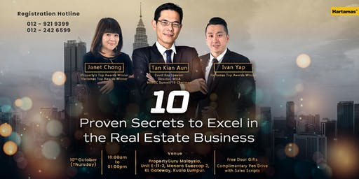 The 10 Proven Secrets to Excel in the Real Estate Business